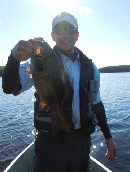 smallmouth bass Canada
