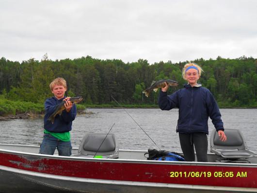 walleye fly in fishing