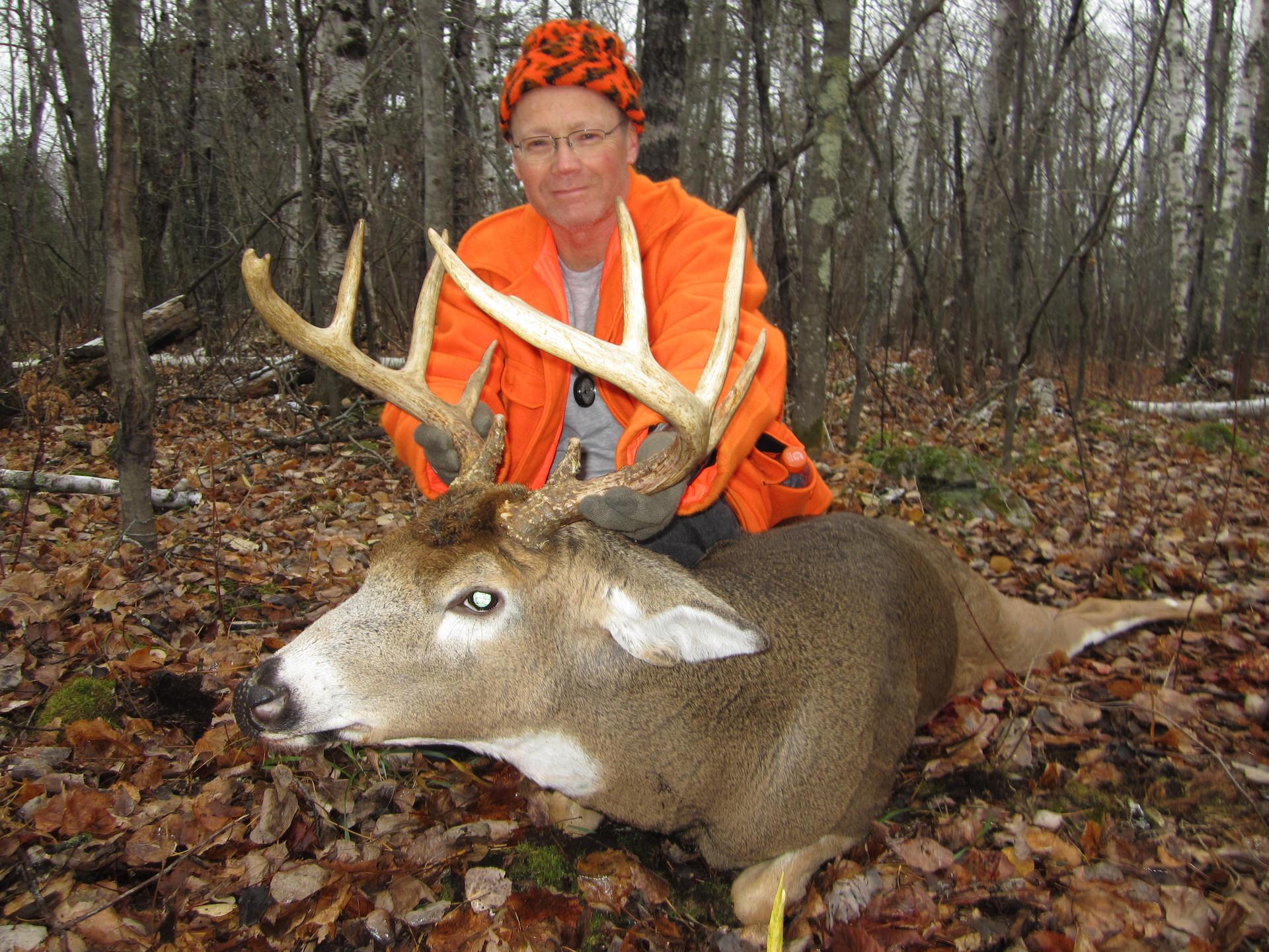Ontario rut deer hunt