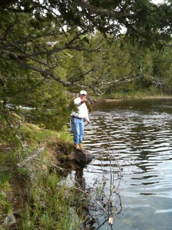 fishing shore Canada