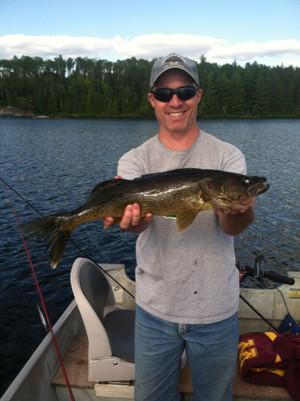 big walleye in Ontario