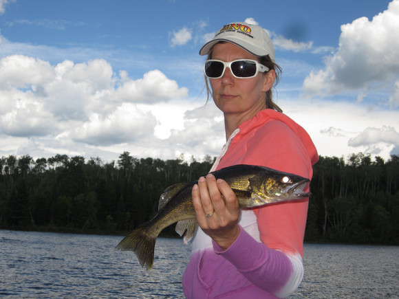 drive to walleye fishing