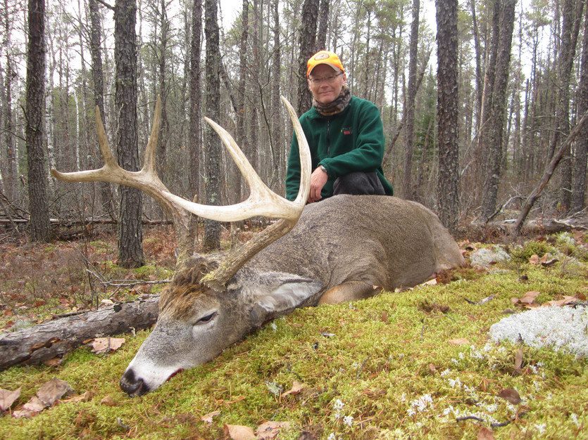 trophy Ontario deer hunting