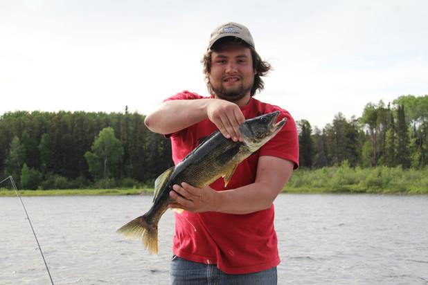 walleye fishing Ontario