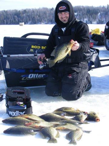 ice fishing Ontario