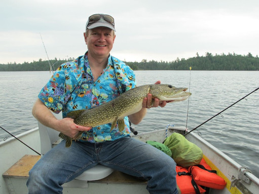 fly in pike fishing