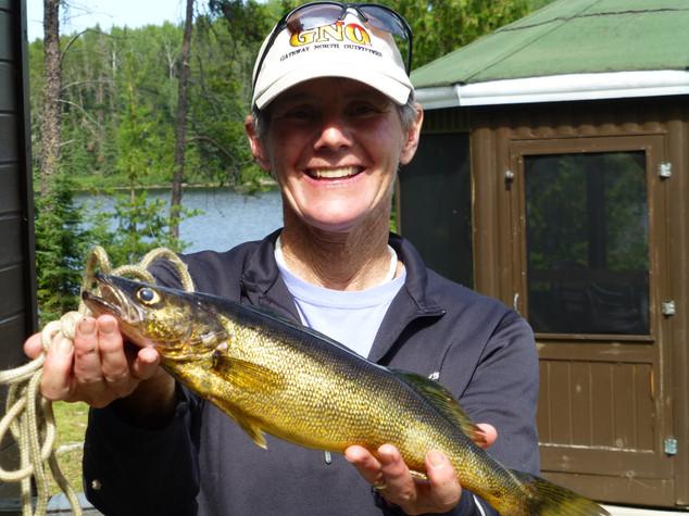 Sakwite Lake walleye
