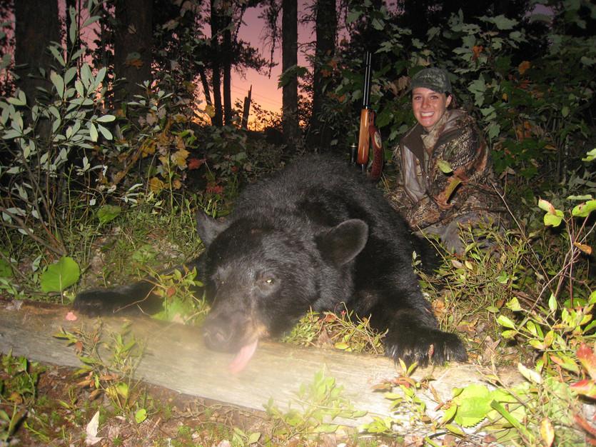 Ontario bear hunt