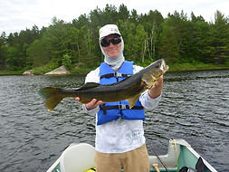 walleye fishing in Ontario