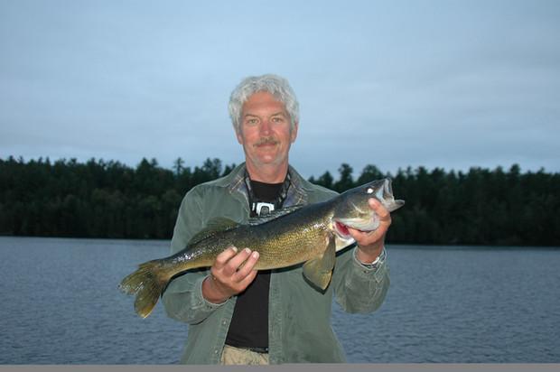 trophy walleye in Canada