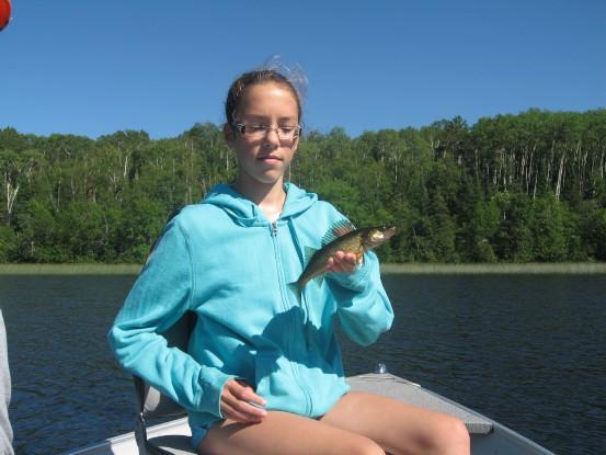 Off Lake walleye