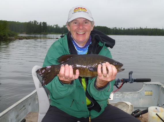 Sakwite Lake bass