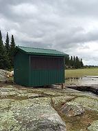 jones lake ontario shed