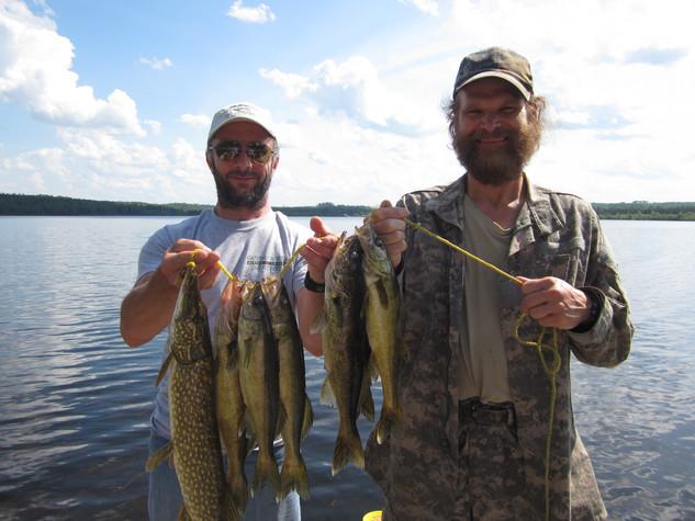 walley fishing Ontario