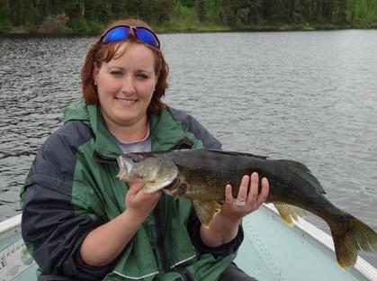 trophy walleye