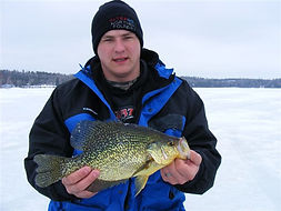 crappie ice fishing Ontari