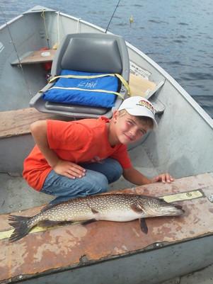 pike fishing Canada