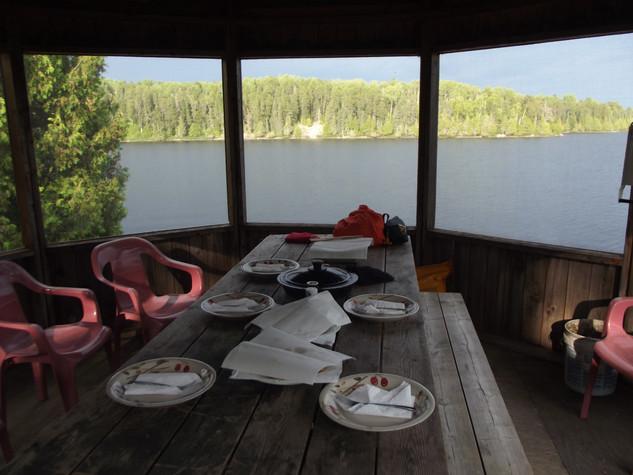 remote lake Canada