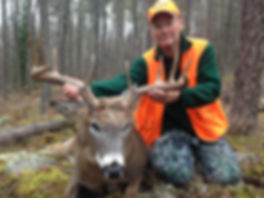 Trophy Ontario whitetail hunting guide 1