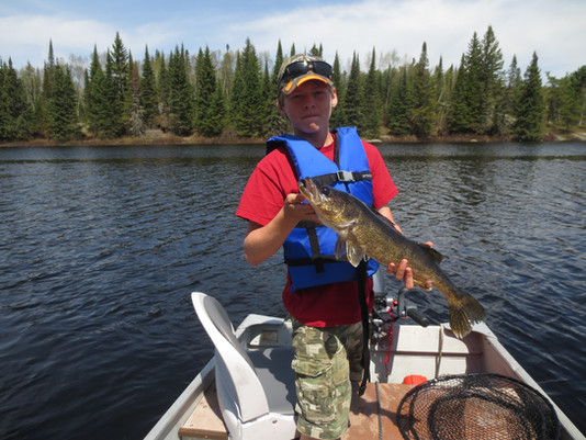 trophy walleye Ontario