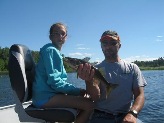 family fishing Ontario