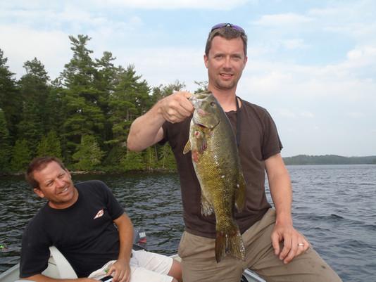 smallmouth bass Ontario outpost
