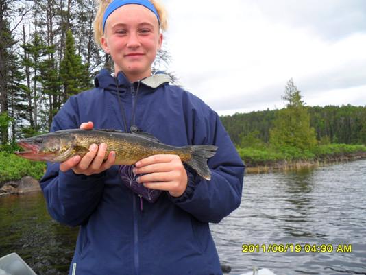 Ontario walleye fishing