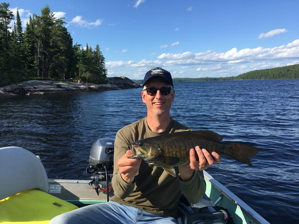 smallmouth bass lakes