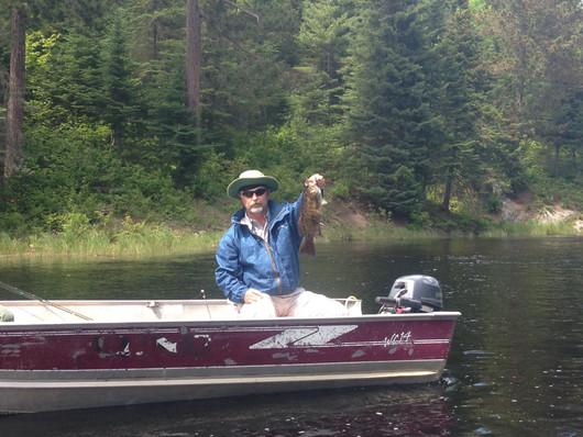 Ontario bass fishing