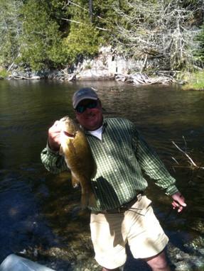 remote bass lake Ontario