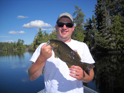 fly in bass fishing