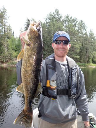 walleye fishing trip