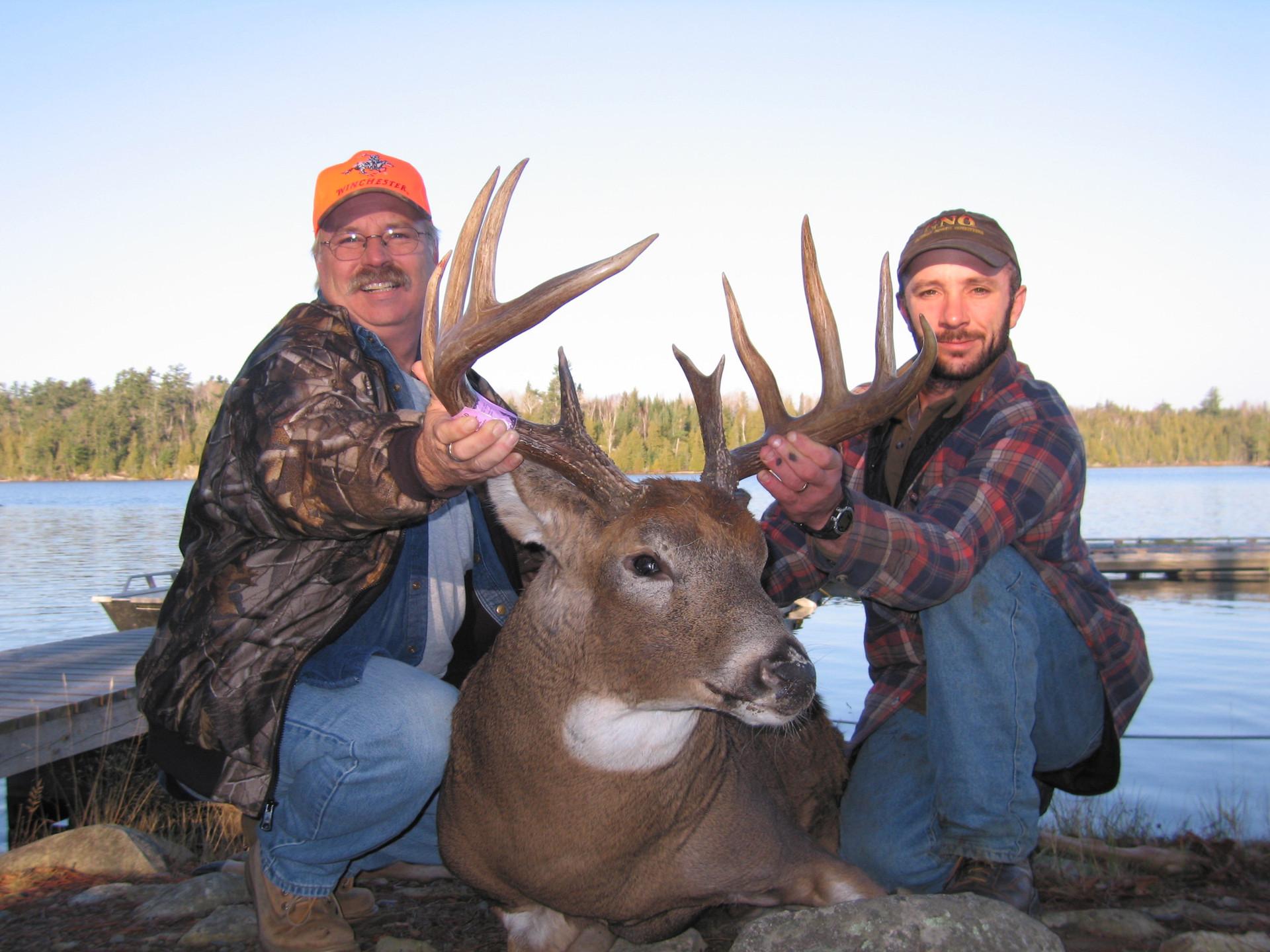 Ontario deer hunt