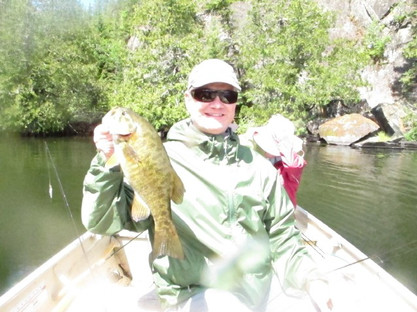 bass fishing in Canada