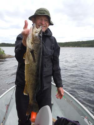trophy walleye Canada