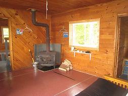Canadian fishing cabin