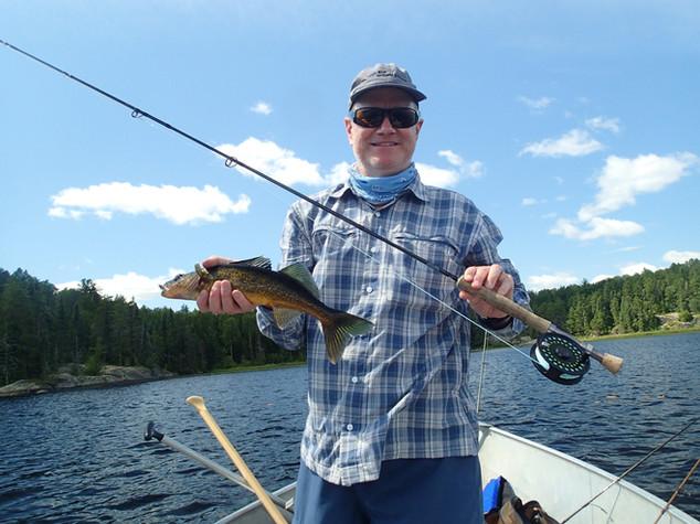 walleye lakes in Canada