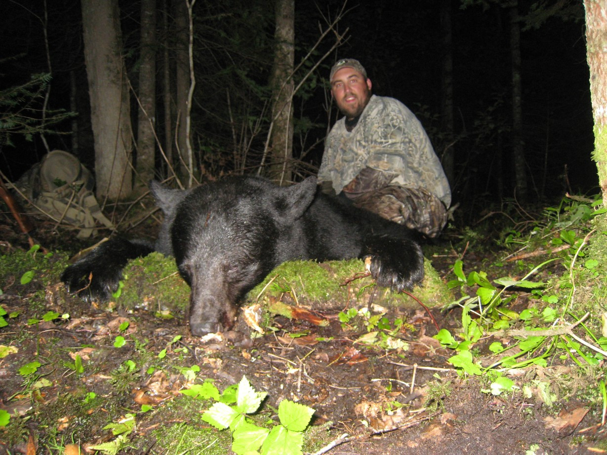 Bear hunting outfitter