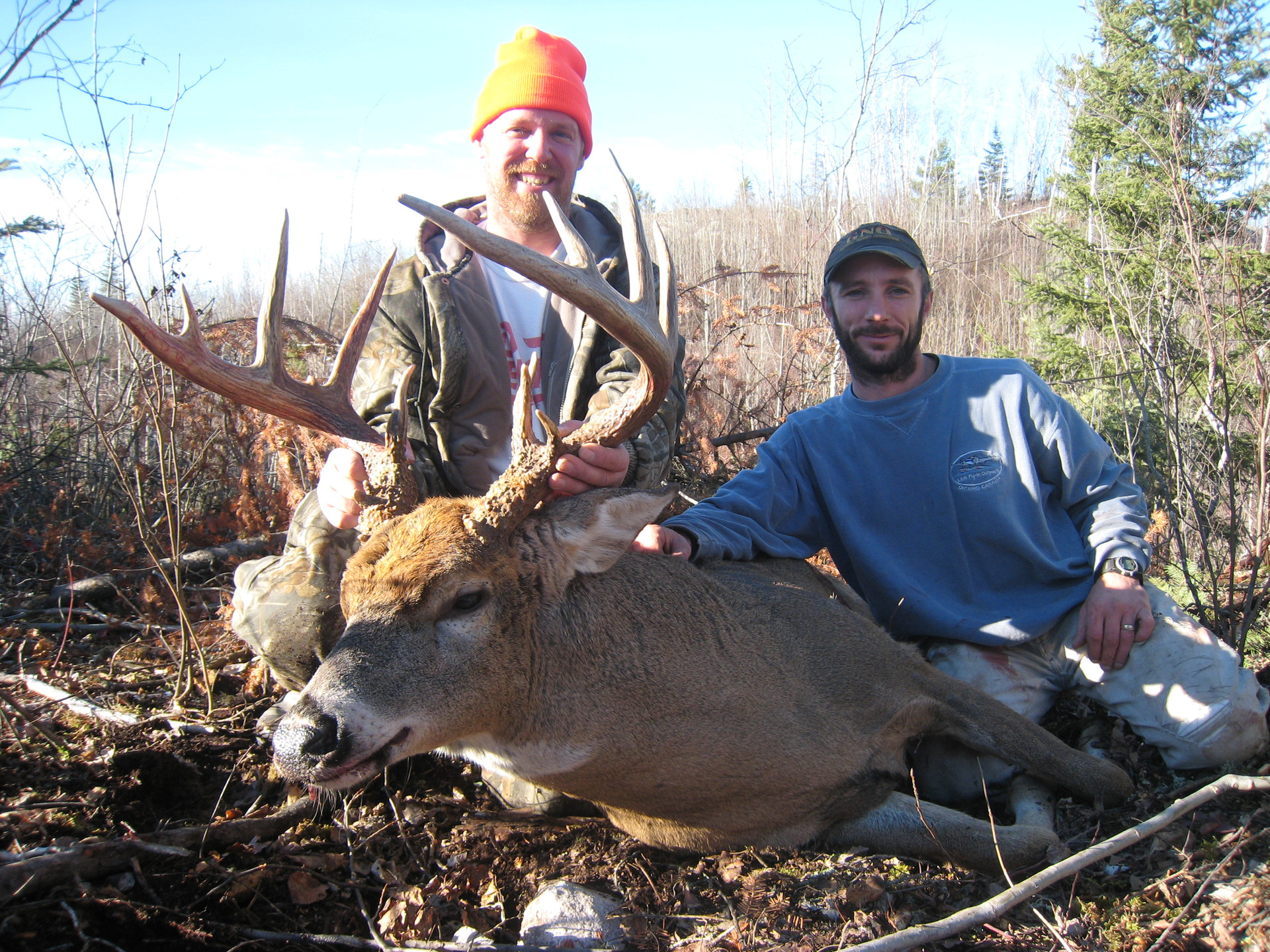 Ontario deer hunting outfitter