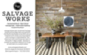 Salvage Works Postcard Reclaimed Wood
