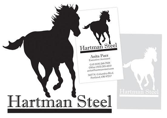 Hartman Steel Logo Vector Illustration