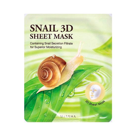 MISSHA Healing Snail 3D Sheet Mask