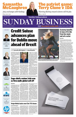Sunday Independent Page 1