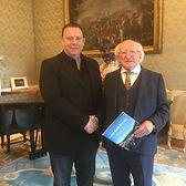 Justin Green Michael D Higgins Award.JPG