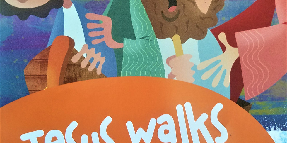 Fall Bible Blitz: The Miracles of Jesus - Jesus Walks on Water
