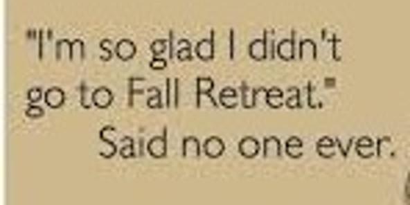 Youth Fall Retreat