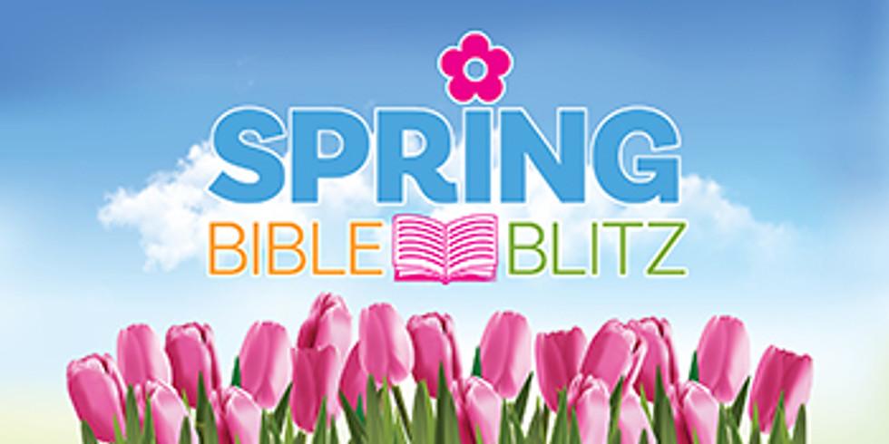 Spring Bible Blitz