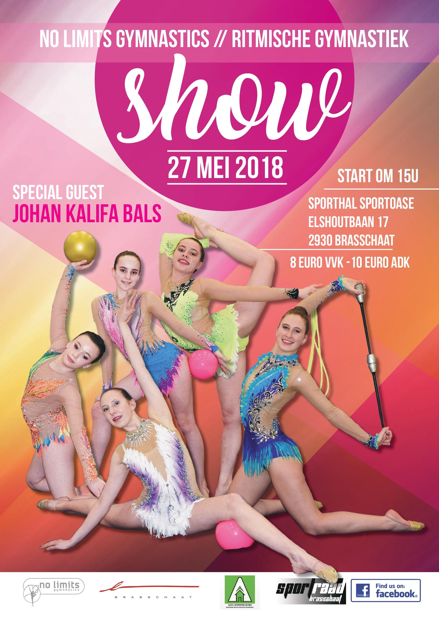 Poster No Limits Show 2018