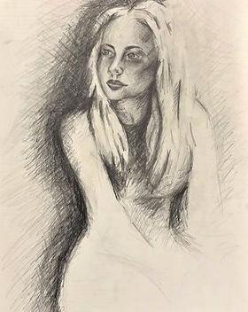 elena-gontcharova-drawing-autoportrait_e