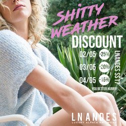 Shitty weather discount